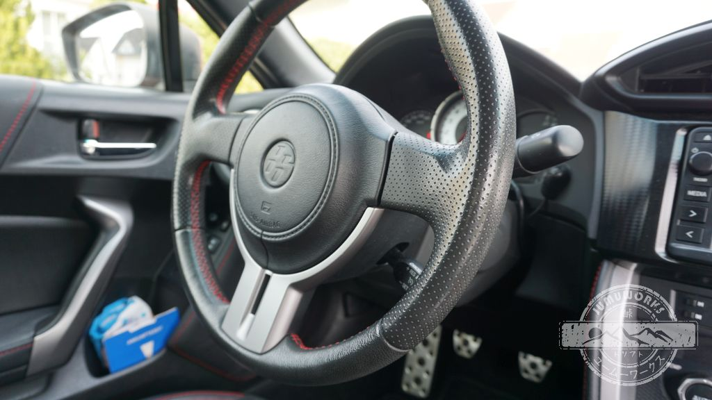Lenkrad unseres Toyota GT86