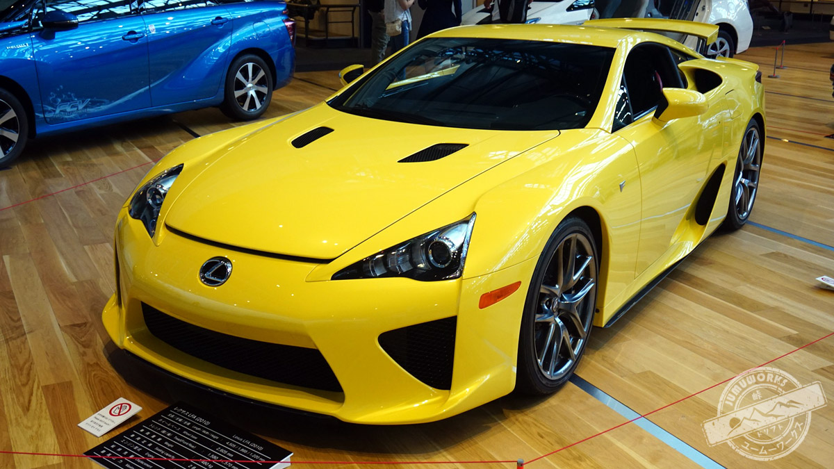 Der Supersportwagen Lexus LFA in Nagoya