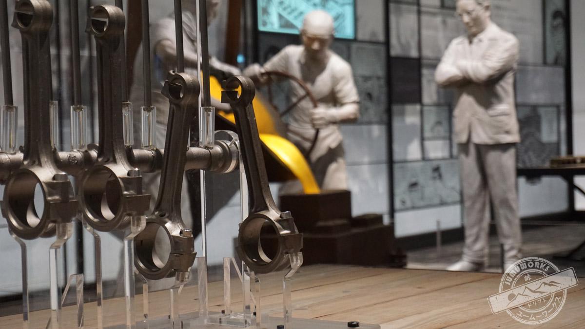 Pleuel im Toyota Museum